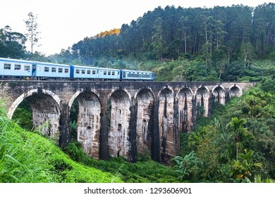 Famous Demodara Nine Arch Bridge. Ella, Sri Lanka.