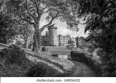 famous dromoland castle hotel, county clare, ireland