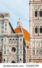 famous duomo cathedral of florence, italy