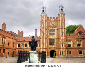 The famous  Eton College, Windsor, United Kingdom