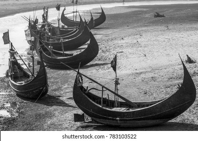 Famous Fishing Boat of Ocean