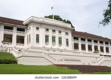 famous Fort Canning Centre in Singapore