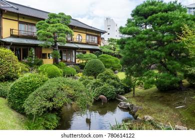The famous garden of Atami kiunkaku