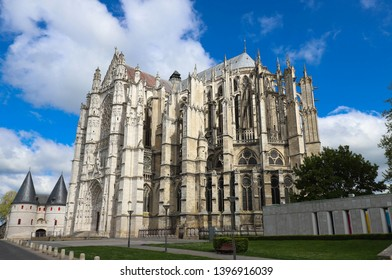 The famous gothic cathedral of Saint Peter of Beauvais Oise department, Picardy, France