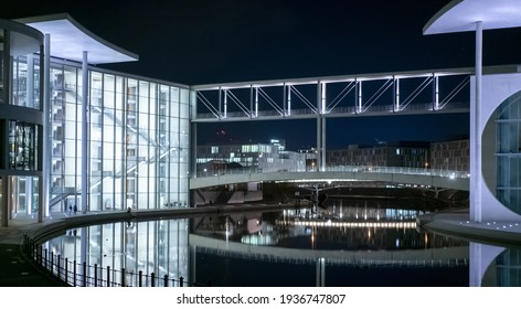 Famous Government building Marie-Elisabeth-Lueders-Haus in Berlin - travel photography - Shutterstock ID 1936747807