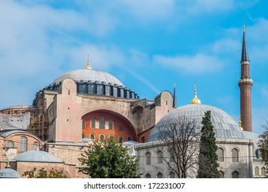 The famous Hagia Sophia museum ex basilica