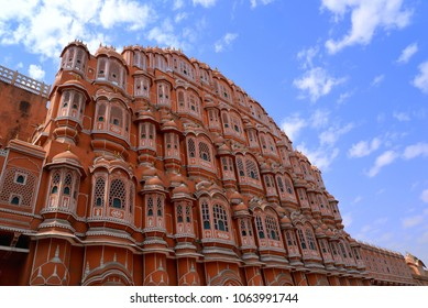 The famous Hawa Mahal in Jaipur, India