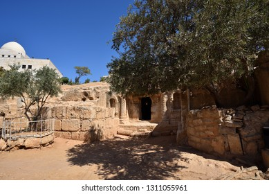 Famous Historical Cave Of The Seven Sleepers Amman Jordan