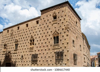 the famous House of the Shells of Salamanca in Spain