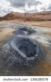 Famous Iceland hot pot/ geyser