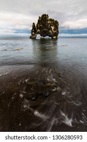 Famous Iceland Rock Formation