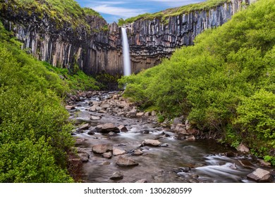 Famous Iceland Waterfall