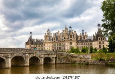 The Famous and Impressive Chambord Castle, the Largest Castle in the Loire Valley in France
