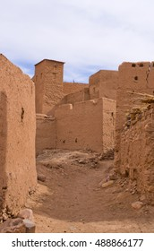Famous kasbah Oulad in Morocco