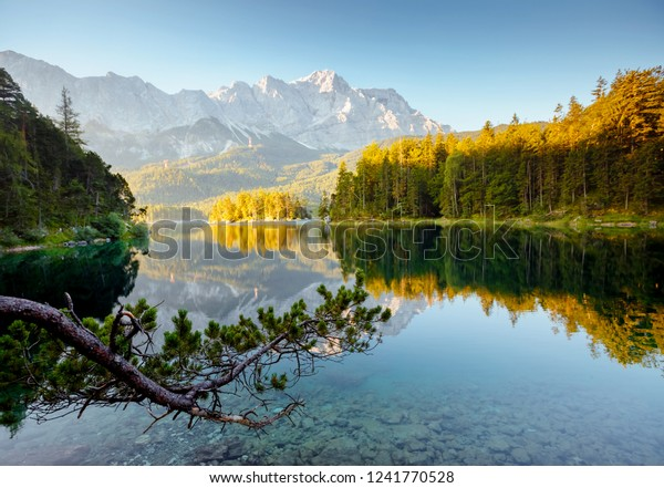 Famous Lake Eibsee Best Place On Stock Photo Edit Now 1241770528 Images, Photos, Reviews