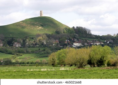 The famous landmark associated with Arthurian legend in the rural heart of England