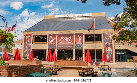 Famous landmark in Nashville - Grand Ole Opry - NASHVILLE, TENNESSEE - JUNE 15, 2019