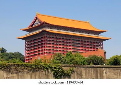 "Famous landmark ""the grand-hotel"" , Taipei , Taiwan"