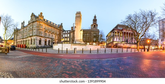 Famous landmarks of a Preston city in one frame