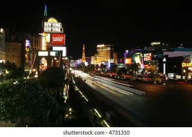Famous Las Vegas Strip