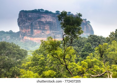 The famous Lion's rock with used to host the ancient city and gardens of Sirigiya is now one of the most visited tourist spots of Sri Lanka