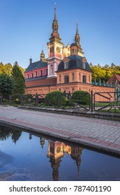 Famous Mary Basilica in Swieta Lipka village, Masuria region in Poland