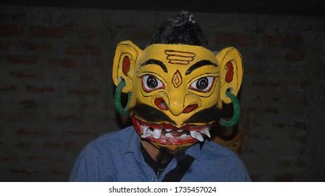 Famous Mask Culture of Chamaguri Sattra,  Majuli, Assam.