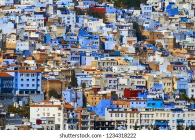 Famous Medina blue city Chefchaouen, Morocco