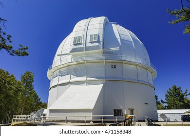 The famous Mount Wilson Observatory of Los Angeles