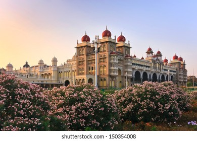 The famous Mysore Palace, Mysore, India