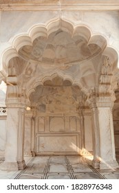 Famous Nagina Masjid in Agra Red Fort, Uttar Pradesh, India. It is also known as the Gem Mosque or the Jewel Mosque. The mosque was built between 1631 and 1640AD.