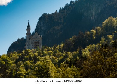 The famous Neuschwanstein castle, Germany