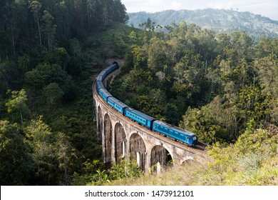 Famous Nine arch bridge in Ella, Demodara, Sri Lanka