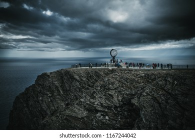 The famous Nordkapp, Finnmark, Northern Norway