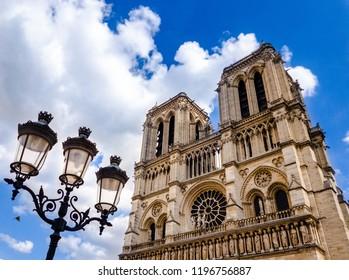The famous Notre Dame in Paris