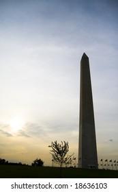 Famous Obelisk in Washington DC