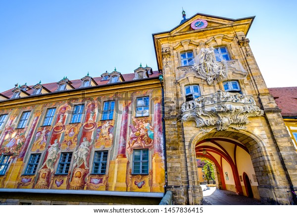 famous old town hall in bamberg - germany