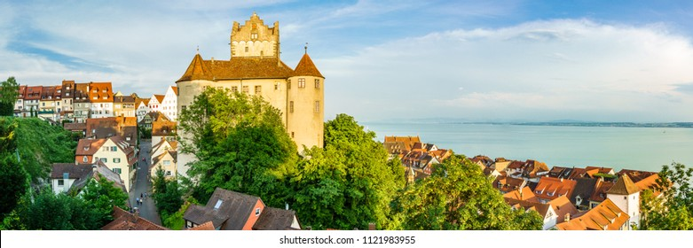 famous old town of meersburg in germany