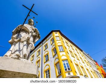 berühmte Altstadt Rosenheim - Bayern - Deutschland