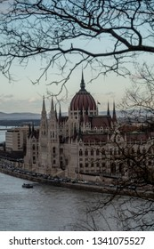 The famous parliament in Budapest, capital of Hungary
