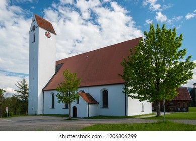 Famous pilgrimage church in Maria Rain, Bavaria
