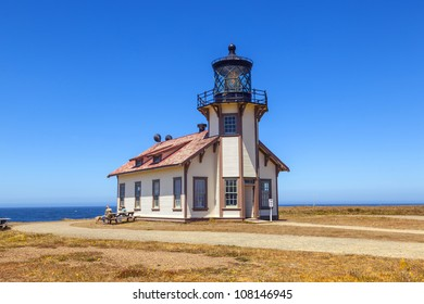 famous Point Cabrillo Lighthouse in California