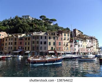 The famous Portofino village