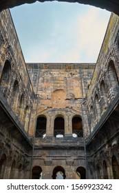 "Famous roman ""Porta Nigra"" - The black City Gate of Trier in Germany"