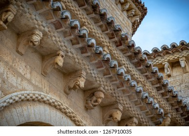 Famous Romanesque church Martin San of Tours in Fromista, Palencia, Spain.