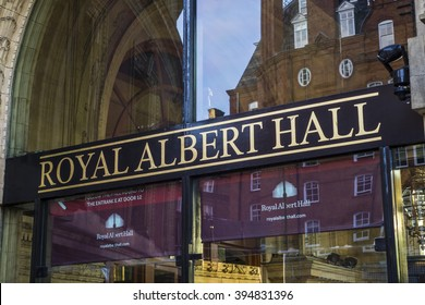 Famous Royal Albert Hall London, Kensington - LONDON,ENGLAND OCTOBER 29; 2015