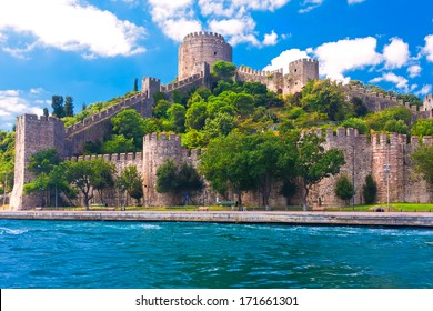 Famous Rumeli Hisari Fortress in Istanbul, Turkey