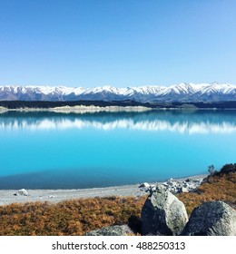Famous Scenic Attraction New Zealand South Island