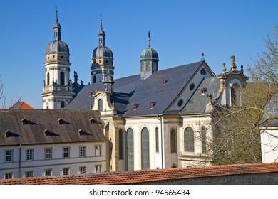 "The famous ""Schoental"" monastery in Germany"