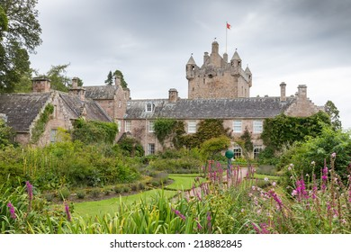 Famous Scottish Cawdor Castle, known from Shakespeare's tragedy Macbeth